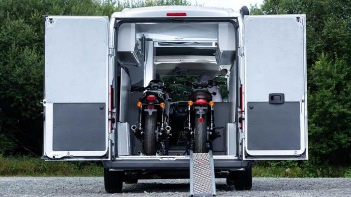 Citroën dévoile un camping-car pour les motards
