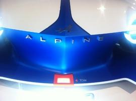 Alpine dévoile son concept Vision GranTurismo