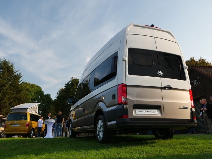 Présentation statique vidéo - Volkswagen Grand California : monsieur plus