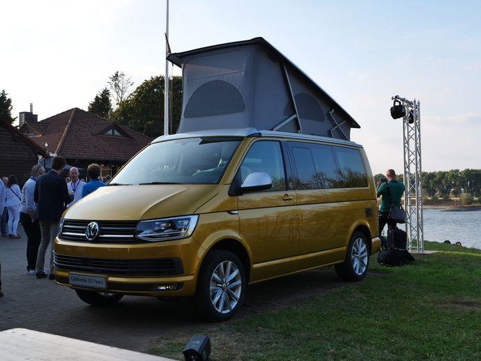 Présentation statique vidéo - Volkswagen Grand California