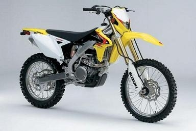 La nouvelle enduro Suzuki : la 450 RMX Z