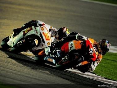 Moto GP - Test Qatar: On n'a pas le moral chez Gresini