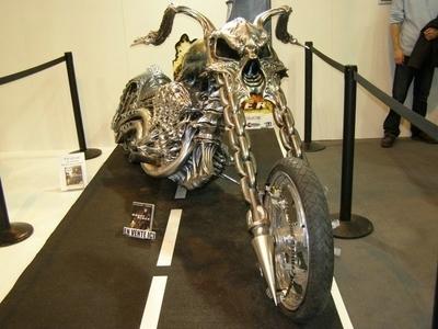 Salon de la moto 2007 les insolites : Ghost Rider