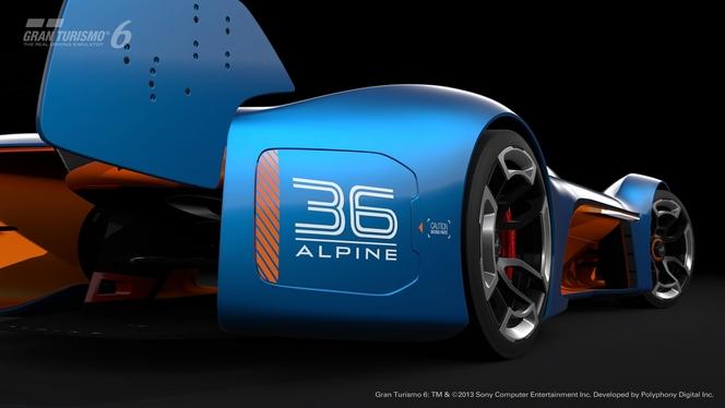 Alpine Vision Gran Turismo : la vidéo et les photos officielles