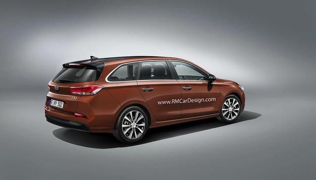 Design : la nouvelle Hyundai i30 imaginée en break