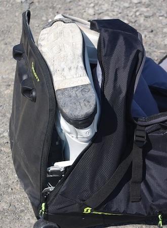 Essai sac de voyage à roulettes Scott Gear Duffle: prêt pour la moto... et les vacances
