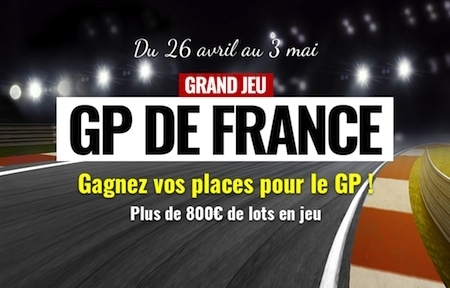 Jeu: Dafy-Moto met en jeu 4 places pour le prochain Grand Prix de France de MotoGP