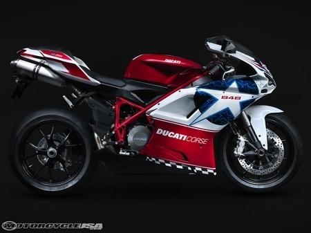 Moto GP - Laguna Seca : Une Ducati 848 aux couleurs de Nicky Hayden [MàJ vidéo]