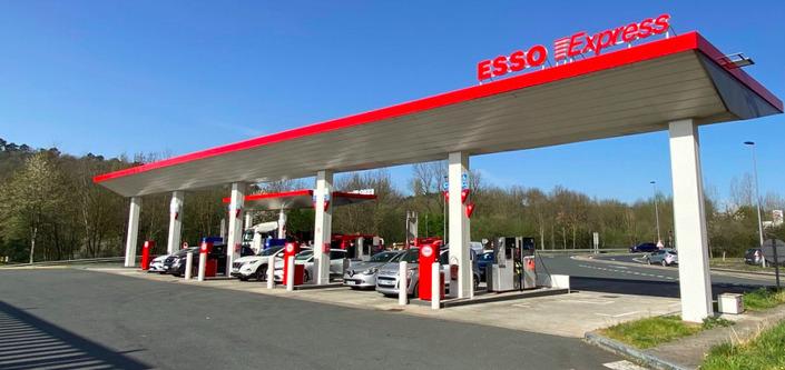 Autoroute: une première station Esso Express pour faire baisser les prix des carburants