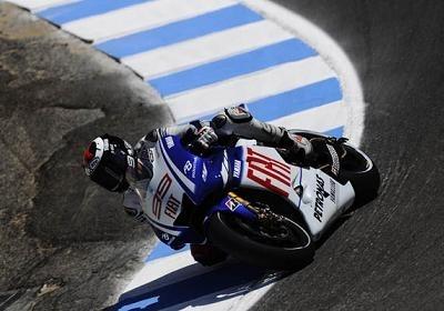 Moto GP - Laguna Seca qualification: Lorenzo en pole mais dans quel état ?