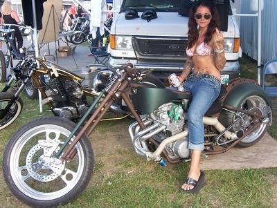 Moto & Sexy : semaine Custom & Chopper : Rien à ajouter