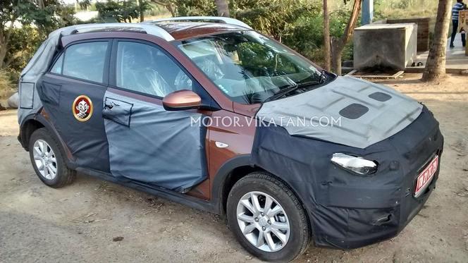 Surprise : voici la Hyundai i20 Cross, une version rehaussée de la citadine
