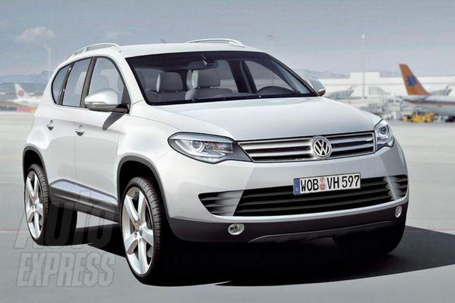 Новое поколение Volkswagen Touareg п…