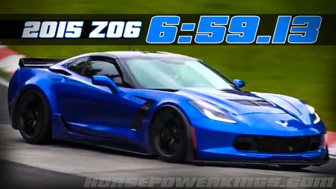 Ring Folies : la nouvelle Corvette Z06 n'a peut être pas effectué un 6'59