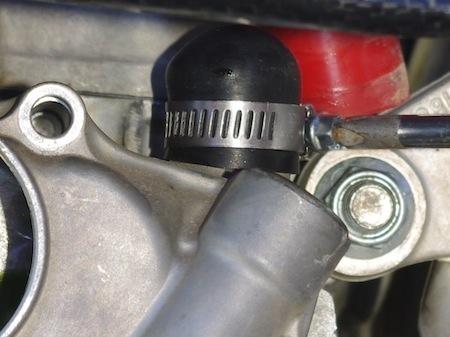 Essai Boyesen Supercooler (carter de pompe à eau + hélice): chute des températures