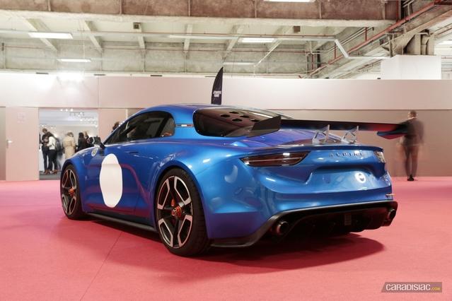 Alpine est bien au Mondial de Paris, la preuve