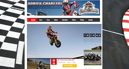 Adrien Chareyre relooke son site internet