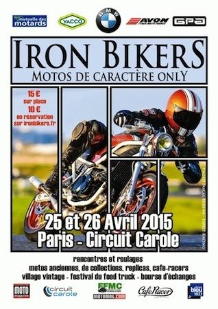 Iron Bikers 2015, la billetterie est ouverte