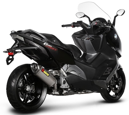akrapovic concernant les maxi scooters bmw c600 sport. Black Bedroom Furniture Sets. Home Design Ideas