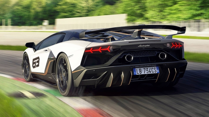Mondial de Paris 2018 - Lamborghini dévoile l'Aventador SVJ