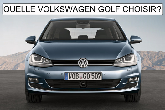 quelle volkswagen golf choisir. Black Bedroom Furniture Sets. Home Design Ideas