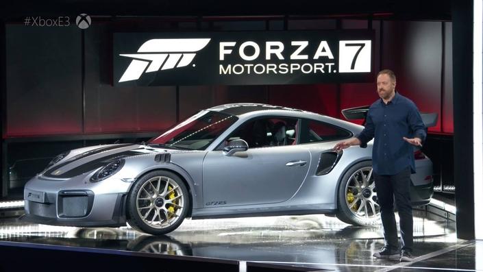 La nouvelle Porsche 911 GT2 RS 2018 révélée avec Forza 7