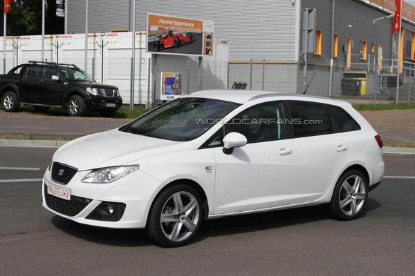 seat ibiza st fr surprise sans camouflage pr s du n rburgring. Black Bedroom Furniture Sets. Home Design Ideas