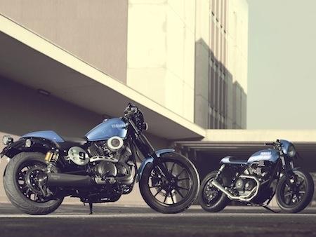 Nouveau 2015: Yamaha XV950 Racer