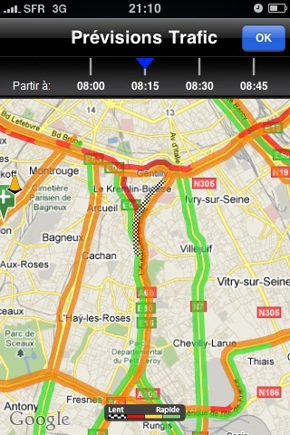 INRIX Traffic! une application d'info trafic gratuit sur iPhone et Android