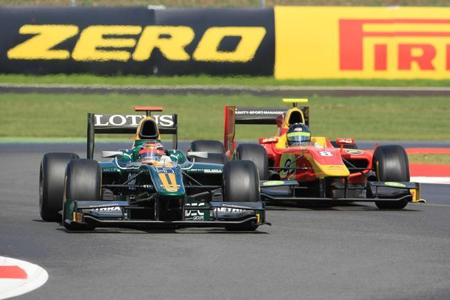 GP2 Silverstone Course 1 : Bianchi arrache la victoire, Grosjean impressionne