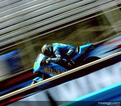 Moto GP - Laguna Seca D.2: Suzuki revient de loin