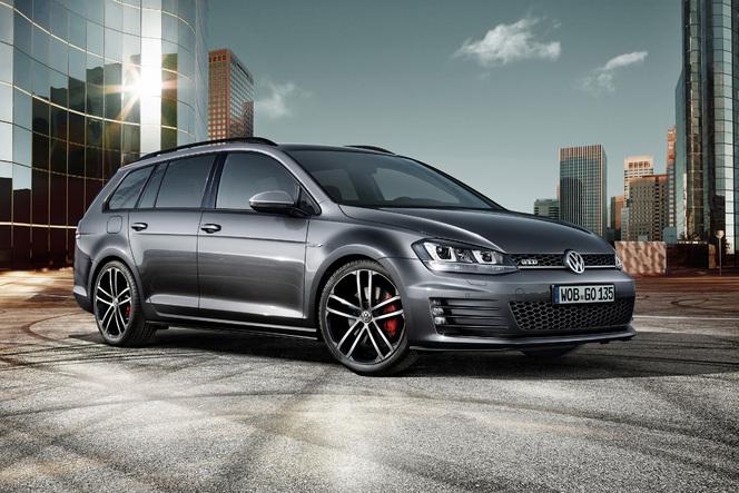 Volkswagen dévoile la Golf GTD SW