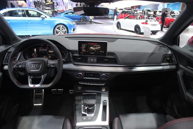 La présence du Virtual Cockpit est la principale nouveauté de l'habitacle