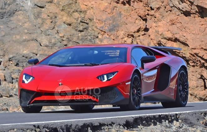 Surprise : voici la Lamborghini Aventador Super Veloce