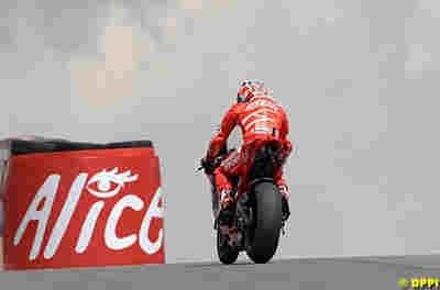 Moto GP 2008: Pramac D'Antin profitera des merveilles d'Alice