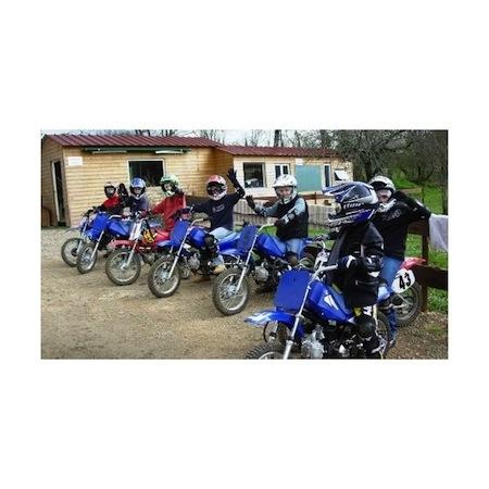 """Pour découvrir le TT: les """"Camp Moto et Multisports"""" du 15 au 21 avril 2012"""