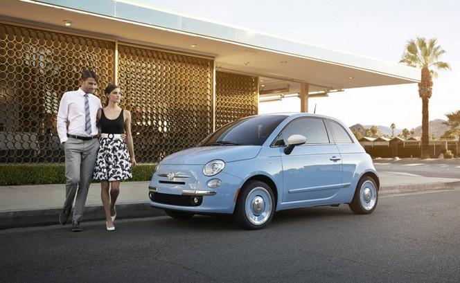 Los Angeles 2013 : Fiat 500 '1957 Edition'