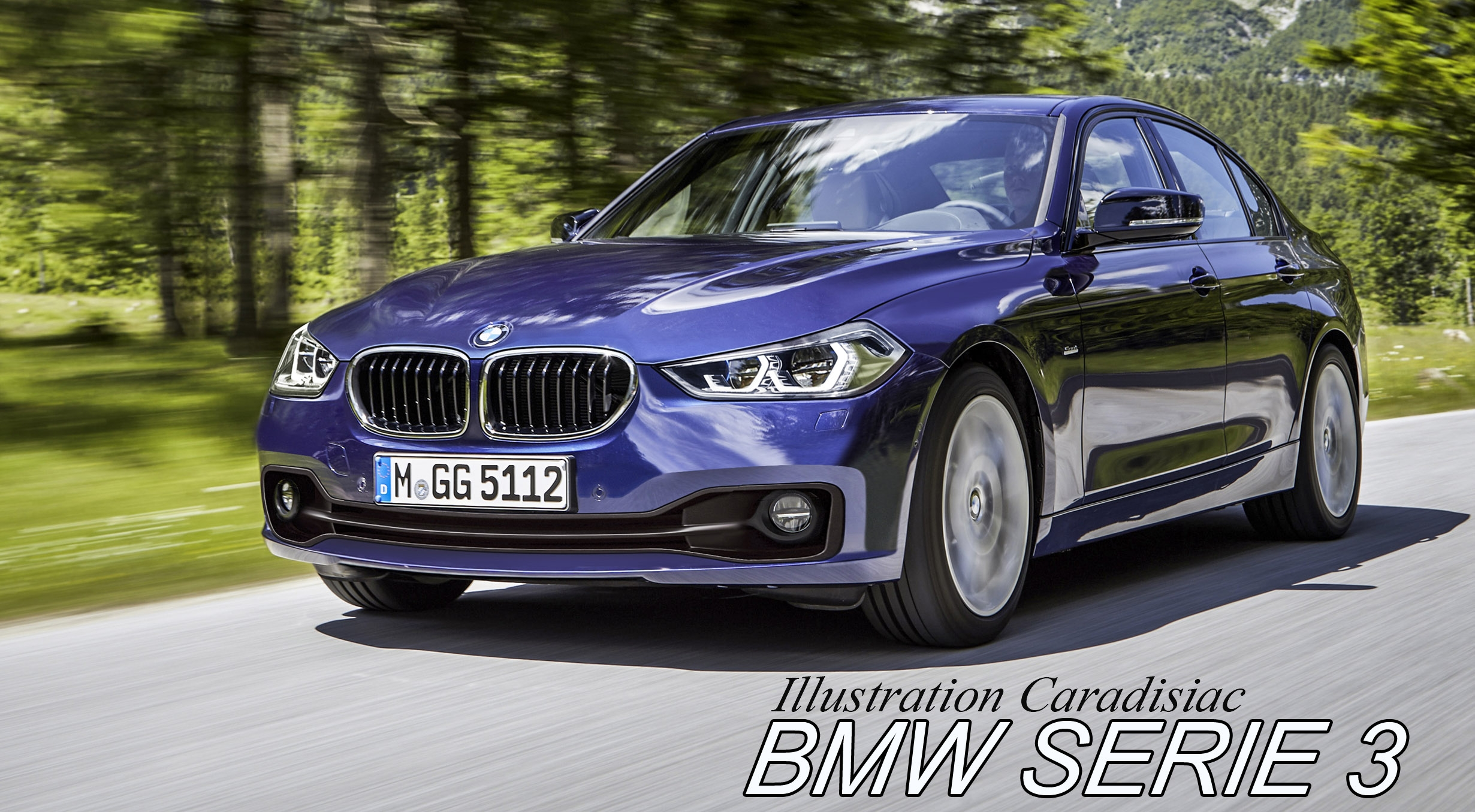 la nouvelle bmw s rie 3 arrive en 2018. Black Bedroom Furniture Sets. Home Design Ideas