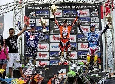 Goncalves remonte au classement du MX 2 en Suède
