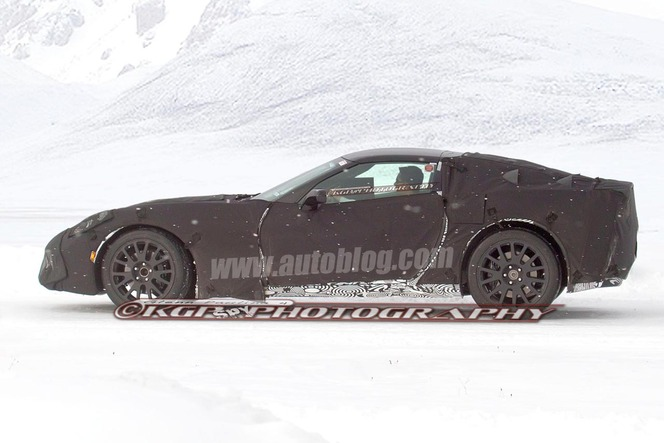 La future Corvette surprise en classe de neige