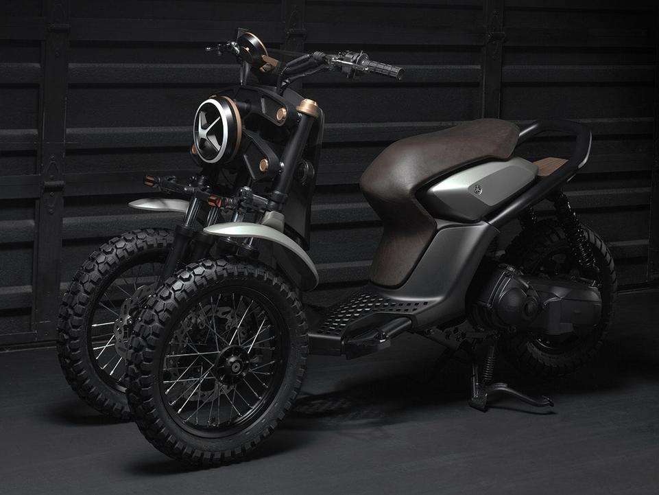 Concept : les premières images des Yamaha 03GEN f et x  [+vidéo ]