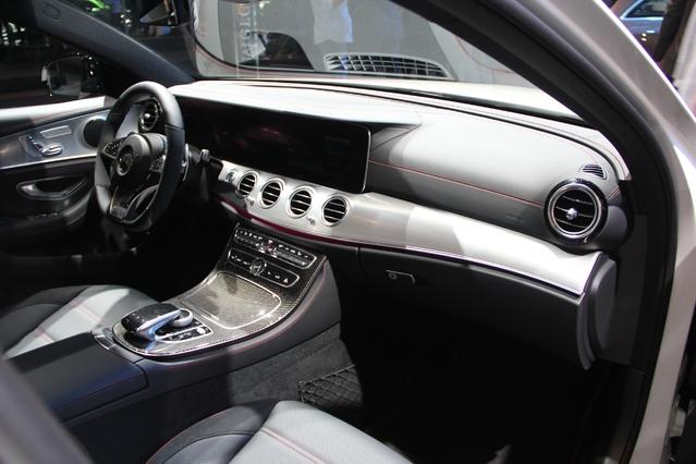 Le cockpit de la nouvelle Mercedes Classe E.