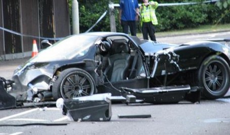 Accident mortel en Pagani Zonda Roadster