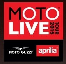 Aprila/ Moto Guzzi: le Moto Live Tour reprend du service en 2015