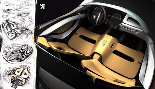 Salon de Francfort 2007 : Roadster Peugeot écolo très design !