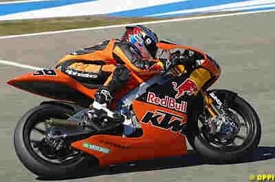 Moto GP 250 Valence : Kallio prive Lorenzo d'une dernière pole