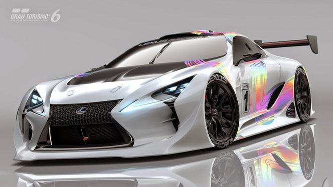 Lexus : le concept LF-LC GT Vision Gran Turismo dévoilé