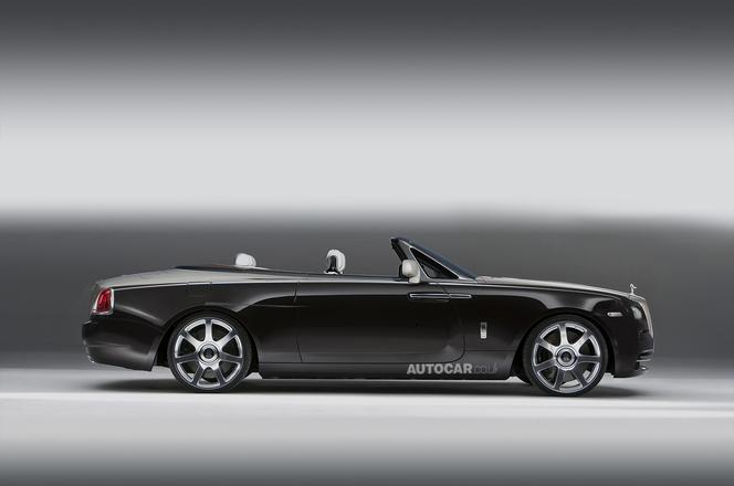 Une Rolls Royce Wraith Drophead Coupe pour 2015
