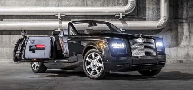 Rolls-Royce Phantom Drophead Coupé Nighthawk : un traitement sportif réservé aux Américains