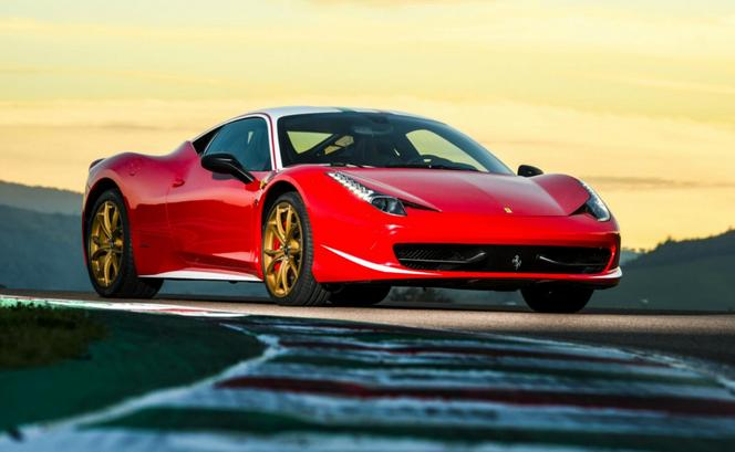 Rapid'news - Une Ferrari 458 en hommage à Niki Lauda...